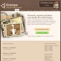 GRAMPS Genealogy Software image